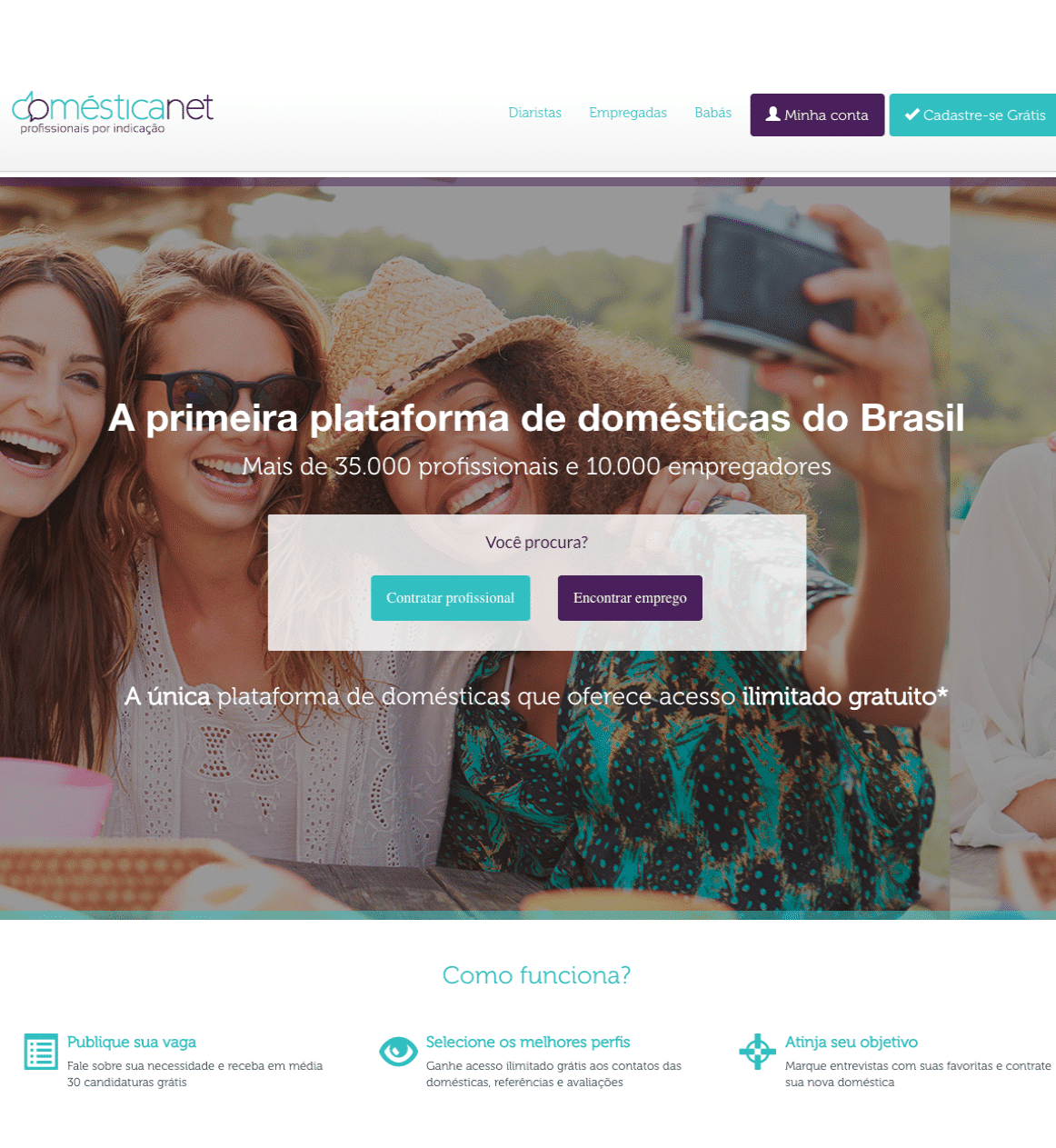 Layout Domesticanet Homepage V2