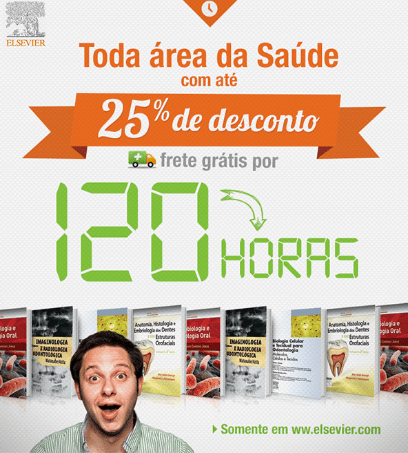"Campagne d'E-Mail Marketing ""Desconto Saúde 120 horas"" - Elsevier"