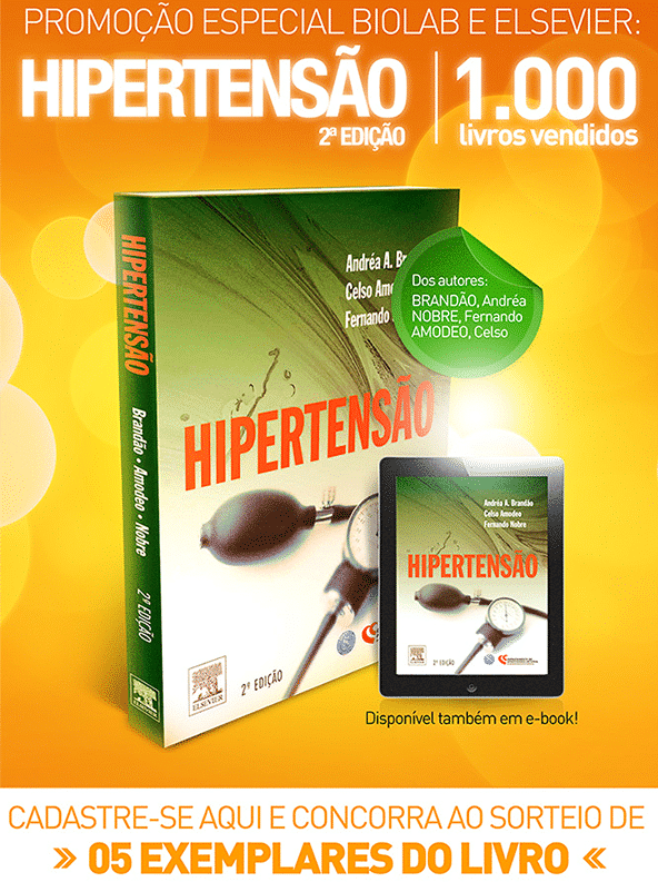 "Campagne d'E-Mail Marketing ""Livro Hipertensão"" - Elsevier"