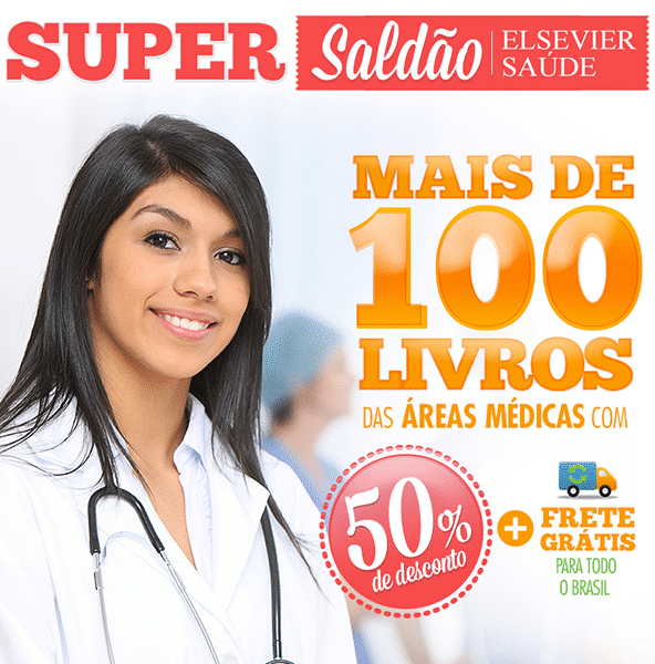 "Campagne d'E-mail Marketing ""Super Saldão de livros"" - Elsevier"