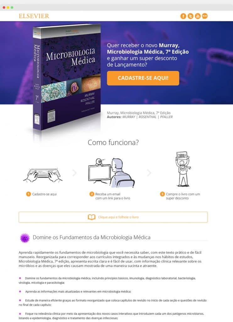 Landing Page Murray - Elsevier