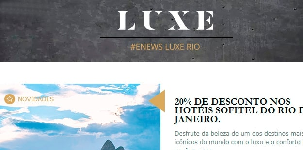 Accor - Criação Newsletter LUXE - Thumb